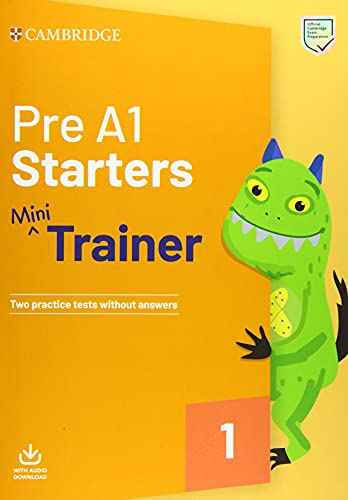 9781108564304: Pre A1 Starters Mini Trainer with Audio Download