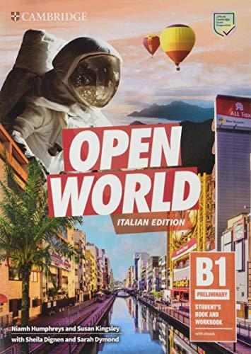 9781108565400: Open world. Preliminary B1. Student's book e Workbook. Per le Scuole superiori. Con e-book. Con espansione online