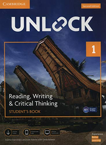 9781108681612: Unlock. 2° edition - reading, writing, critical thinking - level 1: student's book with online workbook with mobile app with downloadable audio and ... App and Online Workbook w/ Downloadable Video