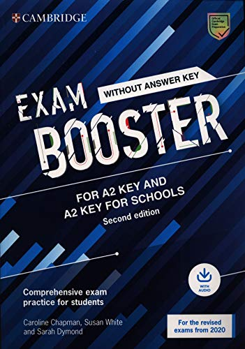 9781108682268: Cambridge English exam. Booster key and key for schools. Student's book without answers (updated for the 2020 exam). Per le Scuole superiori. Con File audio per il download