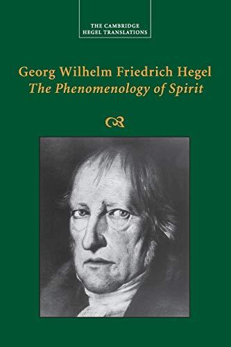 9781108730082: Georg Wilhelm Friedrich Hegel: The Phenomenology of Spirit