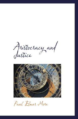 9781110009800: Aristocracy and Justice