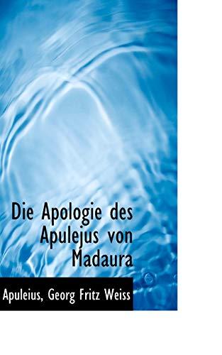 9781110054497: Die Apologie des Apulejus von Madaura