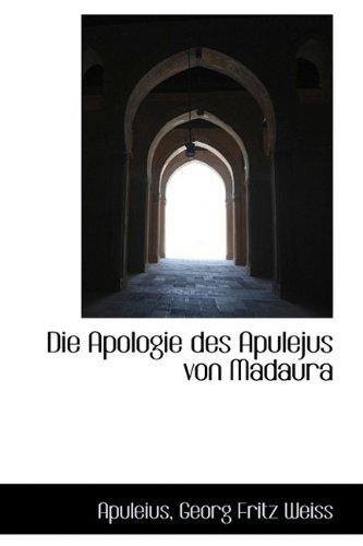 9781110054527: Die Apologie des Apulejus von Madaura