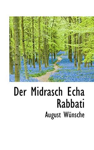Der Midrasch Echa Rabbati (Paperback): August Wnsche, August
