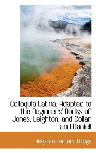 9781110089819: Colloquia Latina