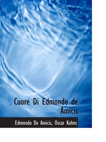 9781110109067: Cuore Di Edmondo de Amicis