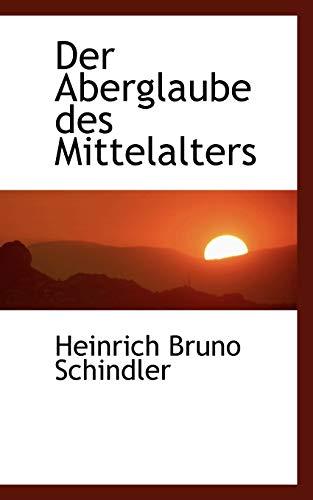 9781110112593: Der Aberglaube des Mittelalters