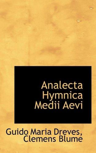 9781110122189: Analecta Hymnica Medii Aevi