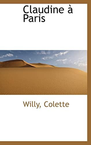 9781110183005: Claudine Paris