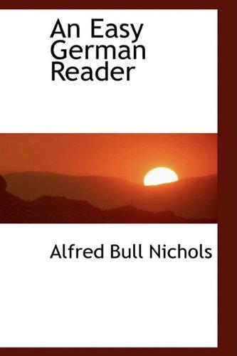 9781110215874: An Easy German Reader