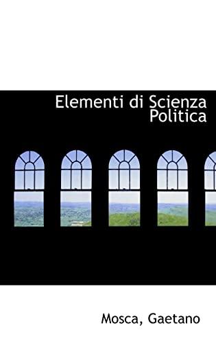 9781110291441: Elementi di Scienza Politica