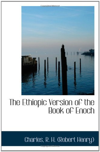 9781110320936: The Ethiopic Version of the Book of Enoch