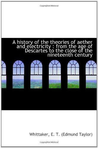 A history of the theories of aether: Taylor, Edmund
