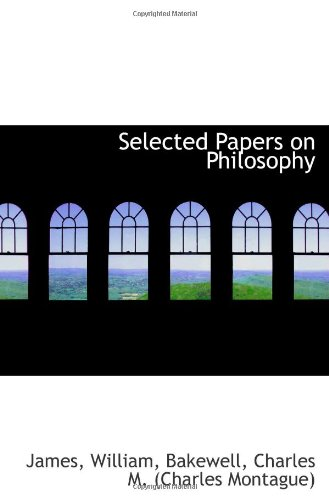 9781110328482: Selected Papers on Philosophy