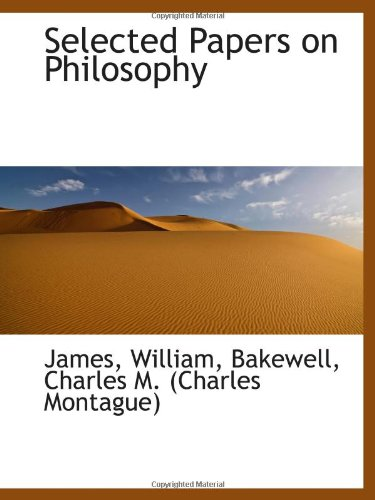 9781110328512: Selected Papers on Philosophy