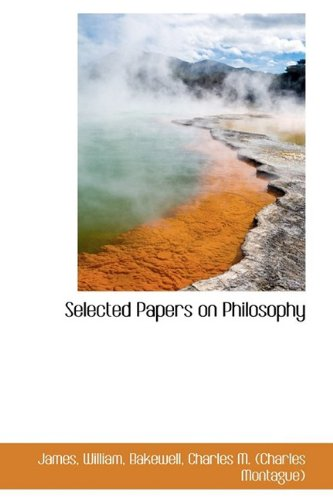 9781110328628: Selected Papers on Philosophy
