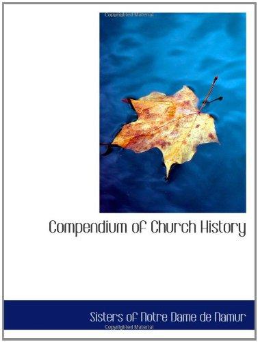 9781110347155: Compendium of Church History