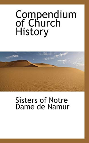 9781110347179: Compendium of Church History