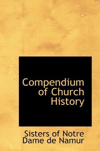 9781110347223: Compendium of Church History
