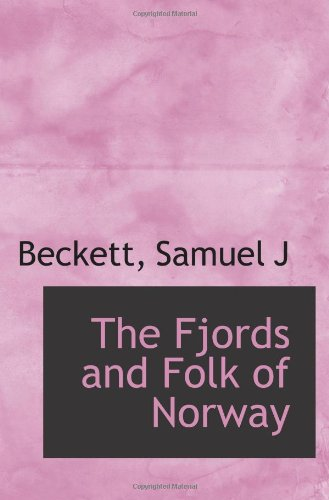 9781110353644: The Fjords and Folk of Norway