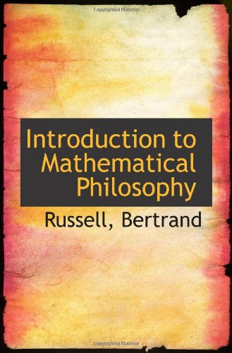 9781110359813: Introduction to Mathematical Philosophy