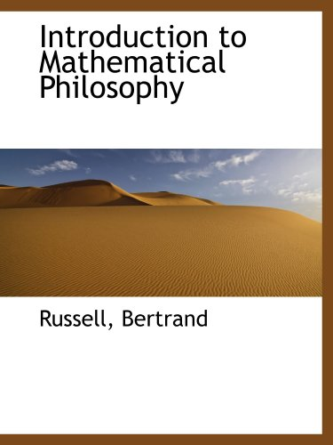 9781110359837: Introduction to Mathematical Philosophy