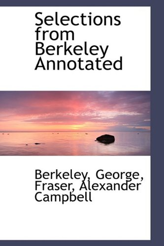 9781110373451: Selections from Berkeley Annotated
