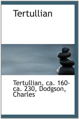 9781110375257: Tertullian
