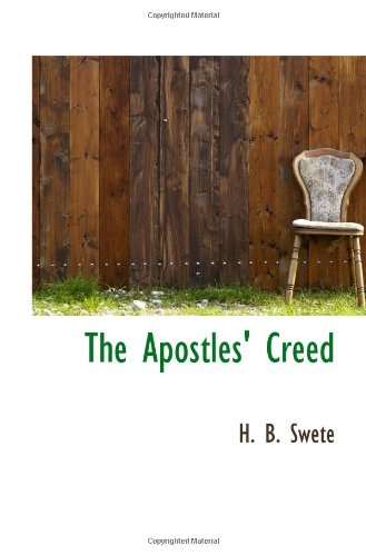 9781110405190: The Apostles' Creed