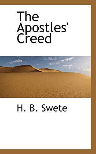9781110405244: The Apostles' Creed