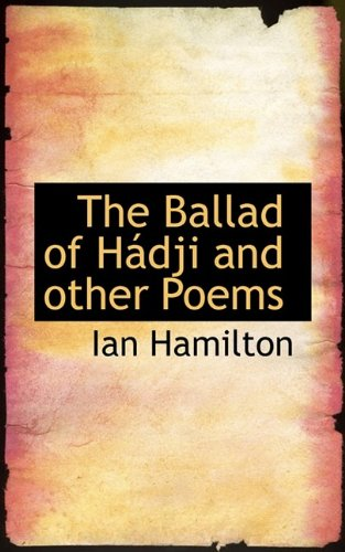 9781110409853: The Ballad of H Dji and Other Poems