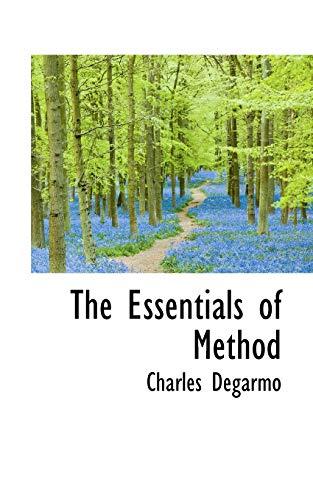 9781110449217: The Essentials of Method
