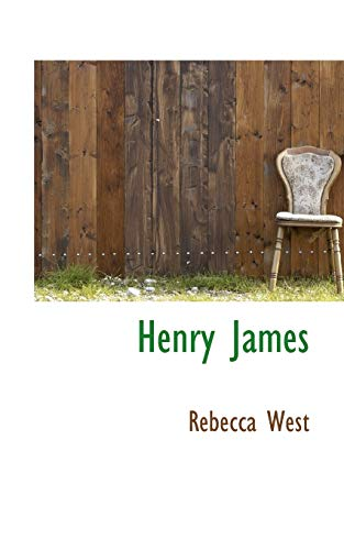 9781110468560: Henry James (Bibliolife Reproduction)