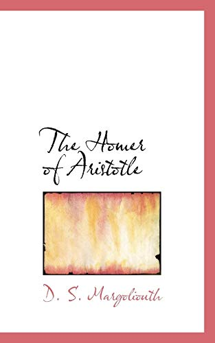 9781110475094: The Homer of Aristotle