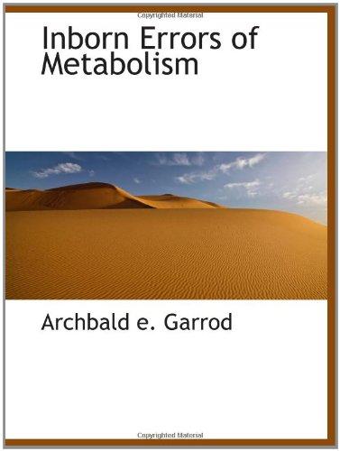 9781110479474: Inborn Errors of Metabolism