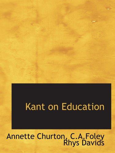 9781110489404: Kant on Education