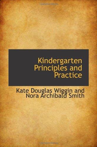 9781110490448: Kindergarten Principles and Practice