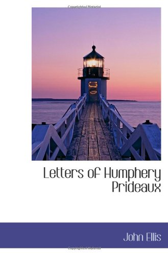 9781110497485: Letters of Humphery Prideaux