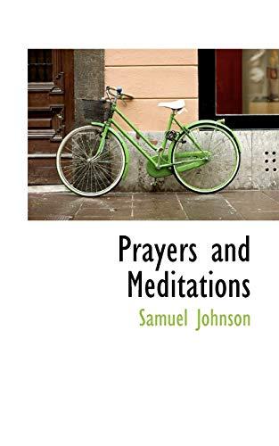 9781110526697: Prayers and Meditations
