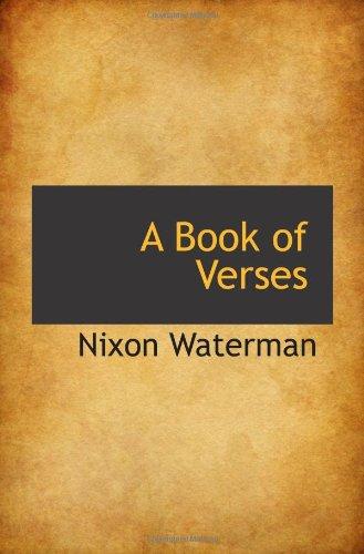9781110546480: A Book of Verses