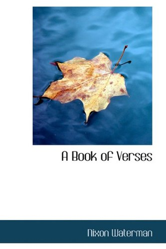 9781110546541: A Book of Verses