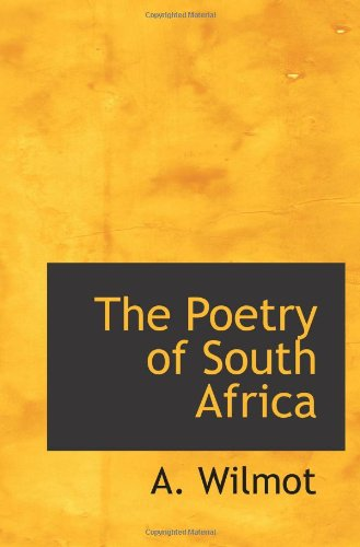 9781110561537: The Poetry of South Africa