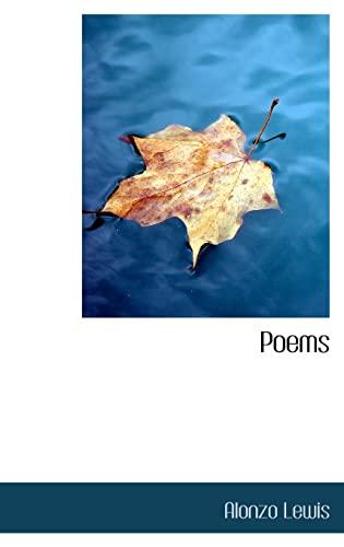 9781110574087: Poems