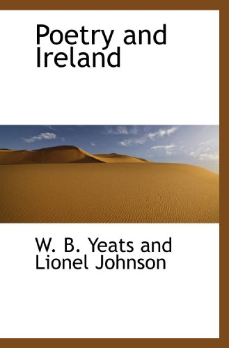 9781110577262: Poetry and Ireland