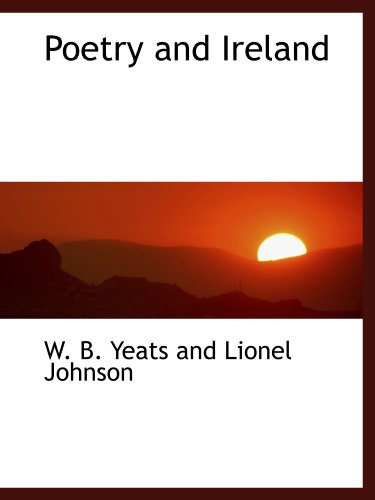 9781110577279: Poetry and Ireland