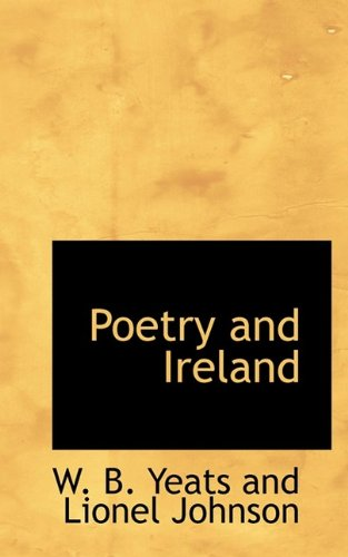 9781110577286: Poetry and Ireland