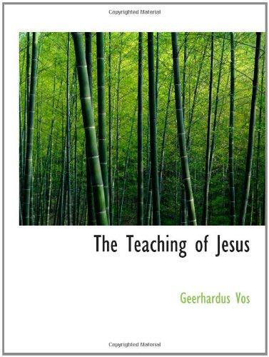 9781110619979: The Teaching of Jesus