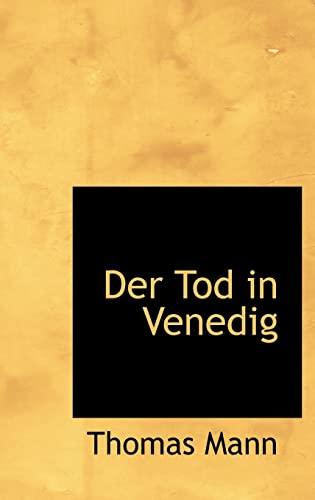 9781110657032: Der Tod in Venedig (German Edition)