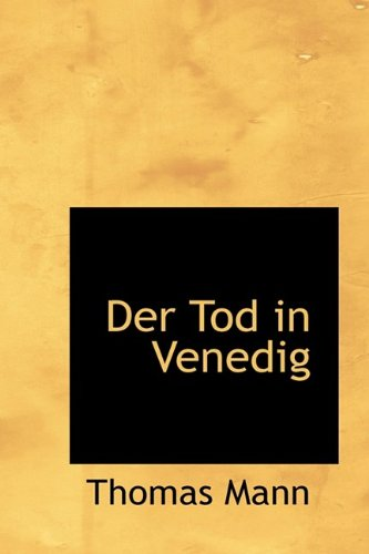 9781110657032: Der Tod in Venedig (German Edition)